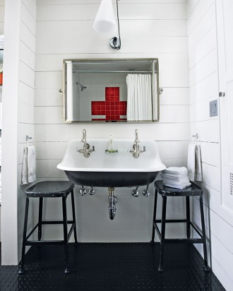 double sink bathroom, Martha Stewart