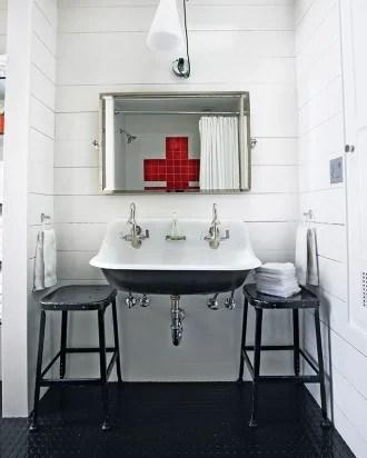double sink bathroom, Martha Stewart