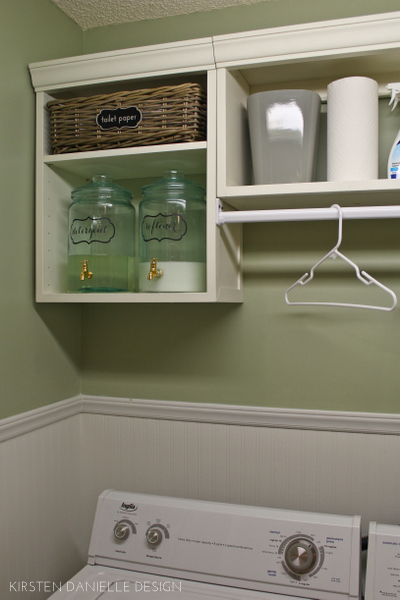 Remodelaholic Ideas For Small Laundry Spaces
