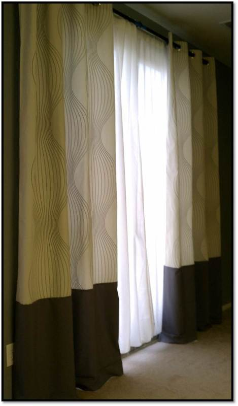 lengthening drapes, A Happy Place Called Home on Remodelaholic