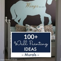 Painted Mural Ideas For Home Interiors From Remodelaholic Thumbnail
