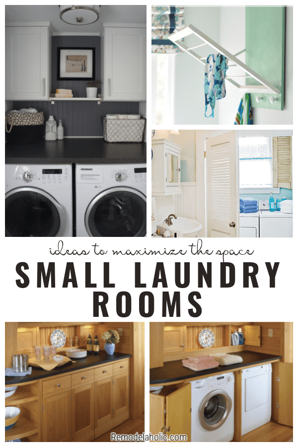 Small Laundry Rooms, Ideas To Maximize The Space From Remodelaholic