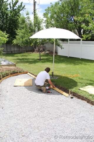 DIY concrete patio-40