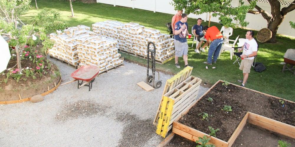 DIY Concrete Patio: Part One