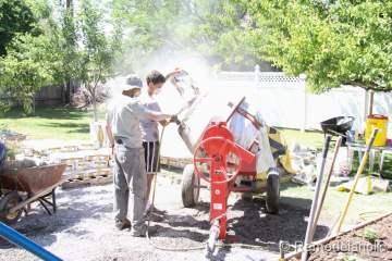 DIY concrete patio part two-9-2