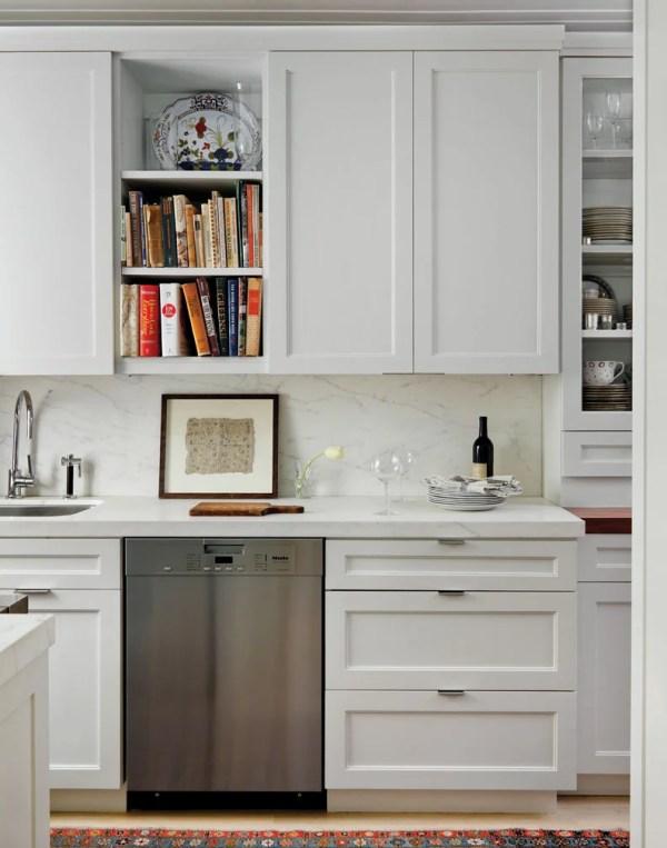 Kitchen, Art Deco Apartment in the El Dorado NYC | Design by Design Development NYC | Photography by Trevor Tondro | featured at Remodelaholic.com #artdeco #design #decor #nyc