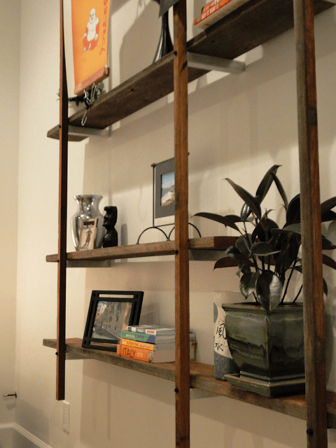 diy floating wall shelving, Big Plans Little Victories