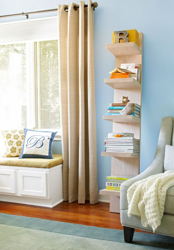 diy shelving, leaning shelf, Lowe's Creative Ideas