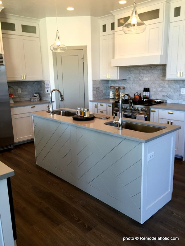 Grey And White Kitchen Cabinetry And Design Ideas, UVPH 2016 Home 28 Journey's End Homes