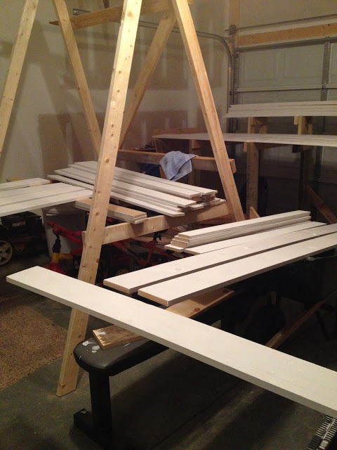 supplies for barn door wainscoting