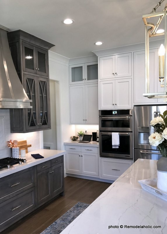 Wood Grey And White Kitchen Cabinetry And Design Ideas, UVPH17 House 9 Millhaven Homes (391)