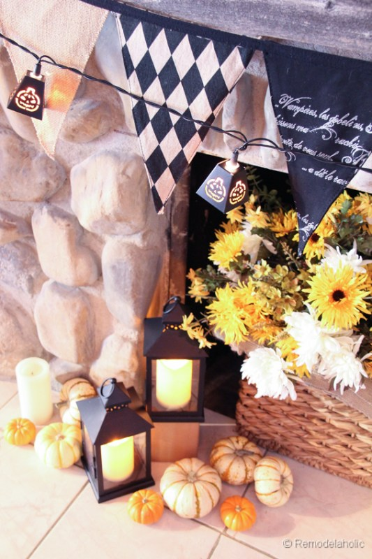 Fall-mantel-and halloween-mantel-decor-ideas-11