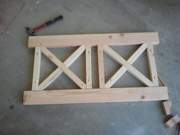 Red Hen Home build a bench back 2