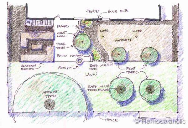 canyon house backyard design