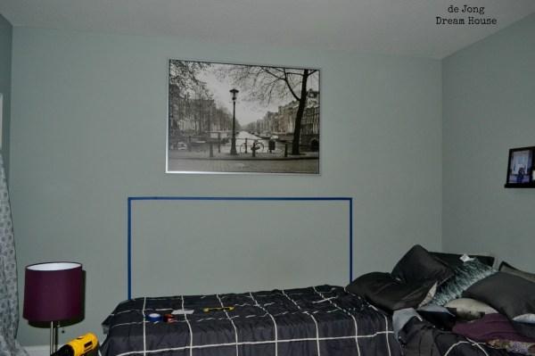 flex room, headboard prep with walla rt