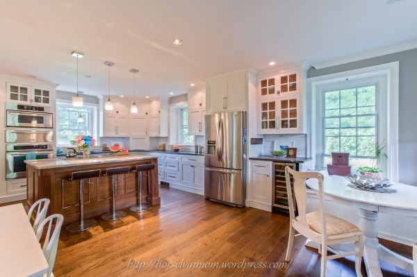 gorgeous country kitchen remodel, featured at Remodelaholic.com