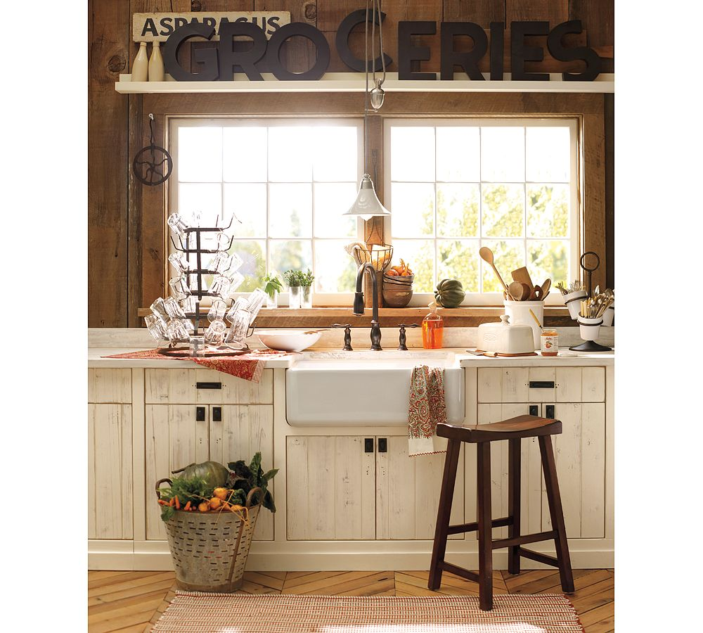 Small Country Kitchen, Pottery Barn Fall Line 2011