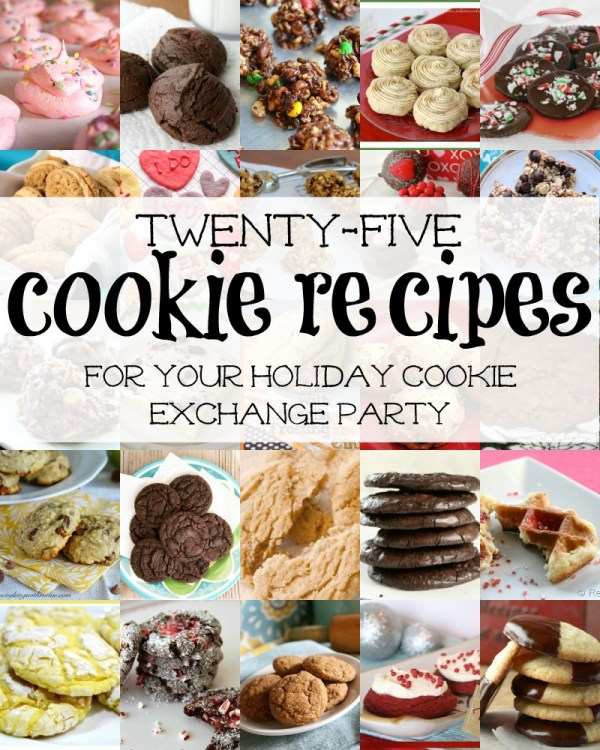 25 Cookie Exchange Recipes via Remodelaholic.com #recipe #cookieexchange #holidays #party