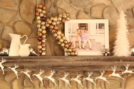 Monogram wreath ornament wreath (26)