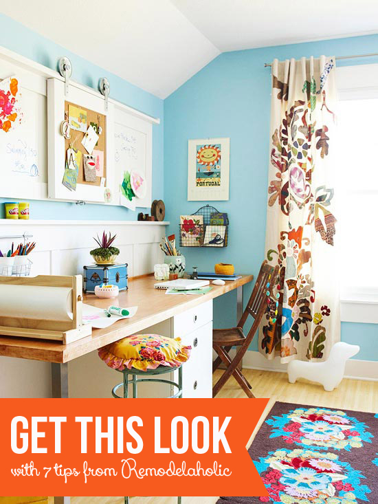 Home office ideas 7 tips Small More Home Office Ideas Tracy Lynn Studio Remodelaholic Create The Perfect Home Officefrom Mood Board To