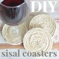 sisal coasters made by thespacebetweenblog.net