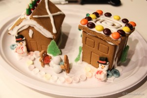 Gingerbread houses free template-10