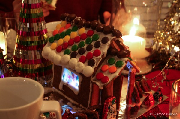 Gingerbread houses free template-2-2