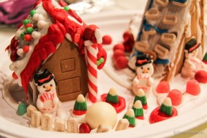 Gingerbread houses free template-8