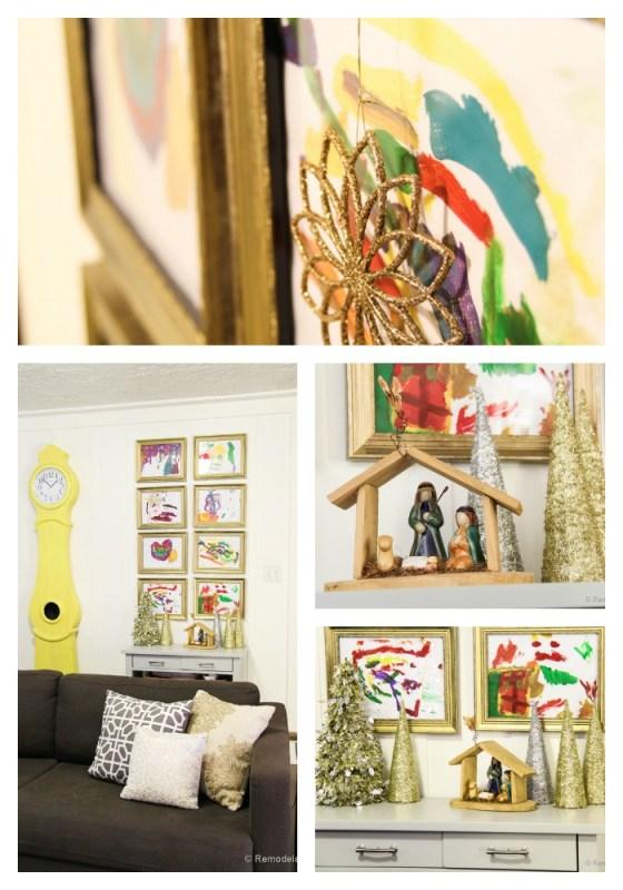 Kid art Gallery Display Ideas