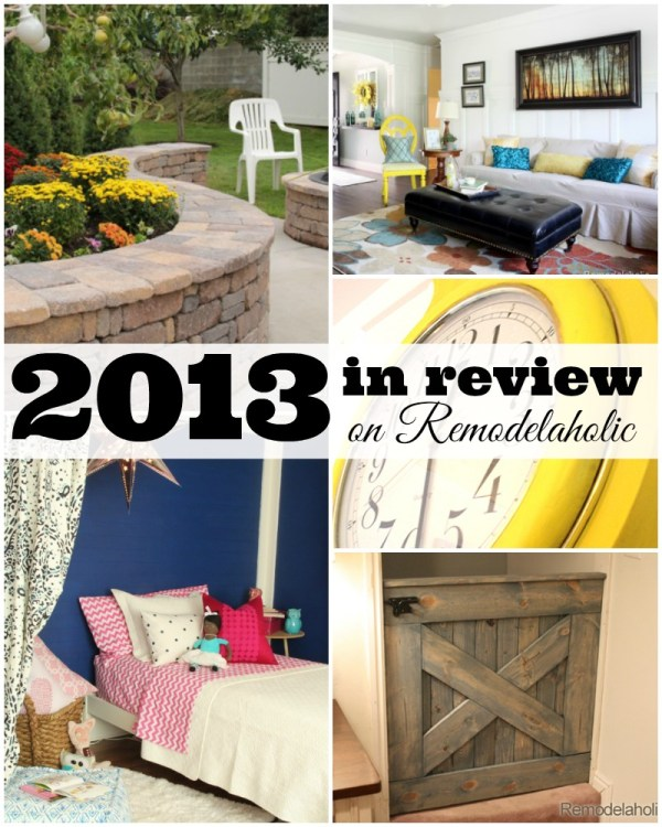 Remodelaholic's Best of 2013 #diy #homedecor #renovation @Remodelaholic