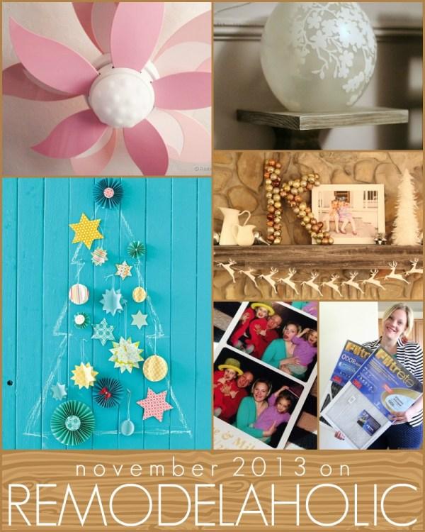 Remodelaholic in Review, November 2013 #diy #decorating #inspiration