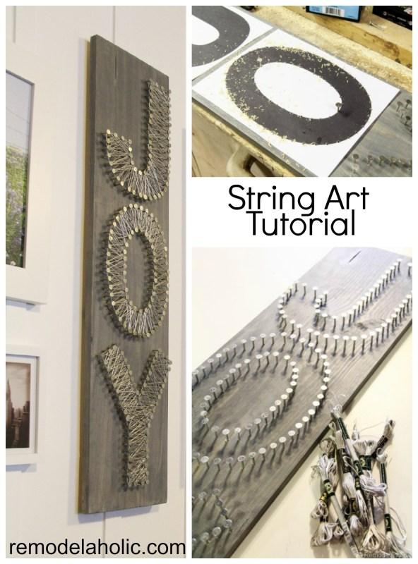 String Art Tutorial
