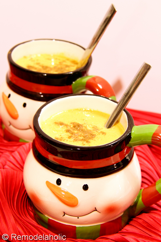 Sugar Free Pumpkin Steamers Recipe-3