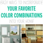 easy ways to incorporate your favorite colors into your home from thespacebetweenblog.net