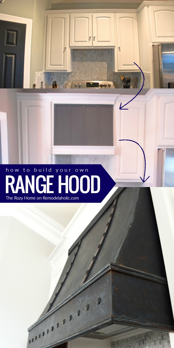 Remodelaholic How To Diy A Custom Range Hood For Under 50