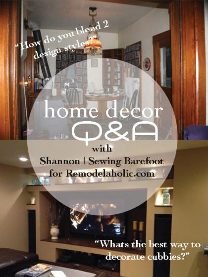 Home Decor Q&A with @ShannonBarefoot | @Remodelaholic #homedecor #Q&A #designideas #designhelp #interiordesign