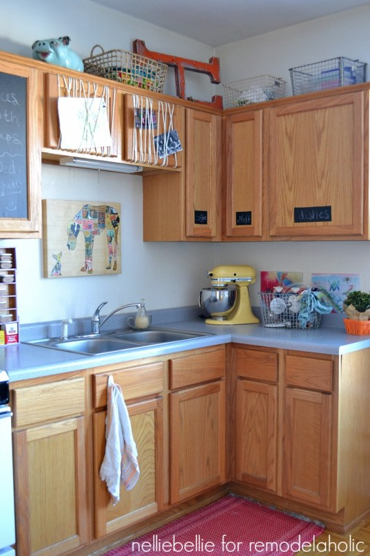 rental kitchen after changes