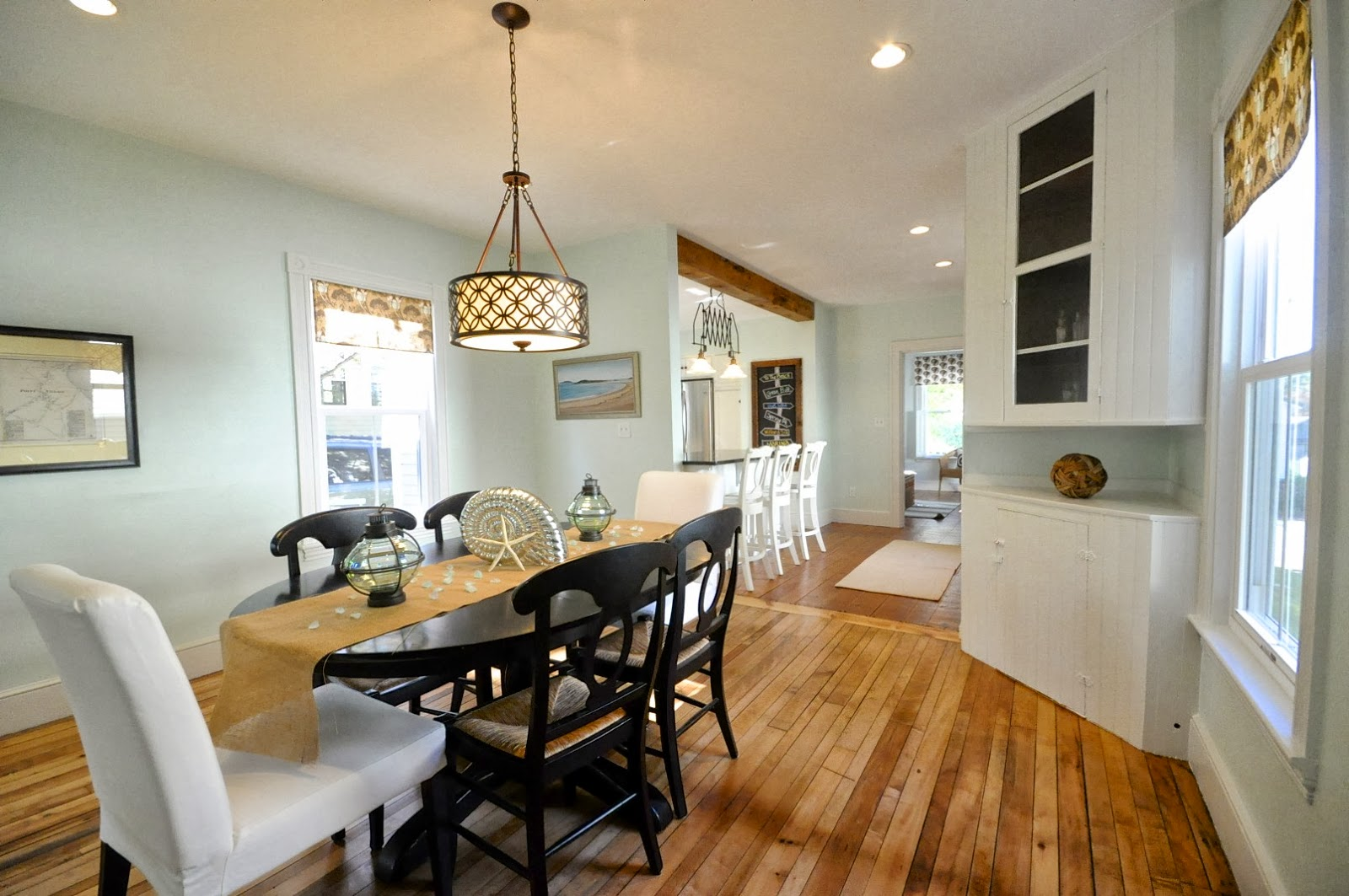 Superieur Create An Open Kitchen And Dining Area | SoPo Cottage Featured On  Remodelaholic.com #