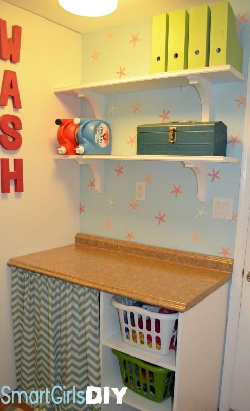 01-03 laundry room makeover, Smart Girls DIY
