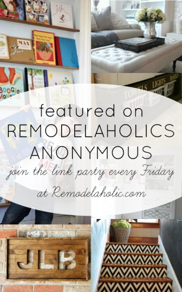 01-24 party features on Remodelaholic