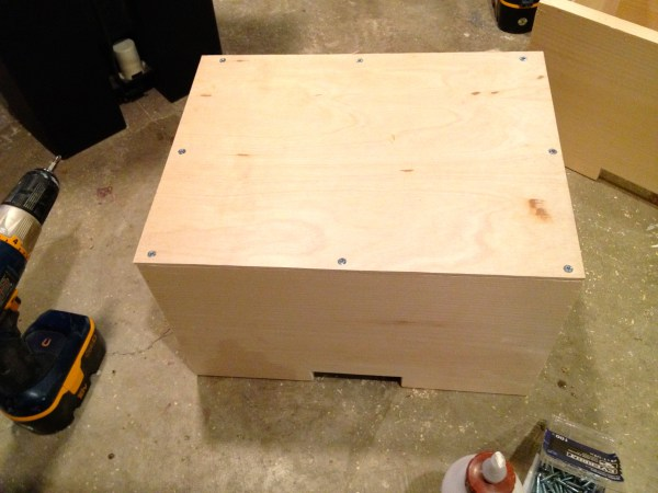 how to build a wooden drawer for a media shelf