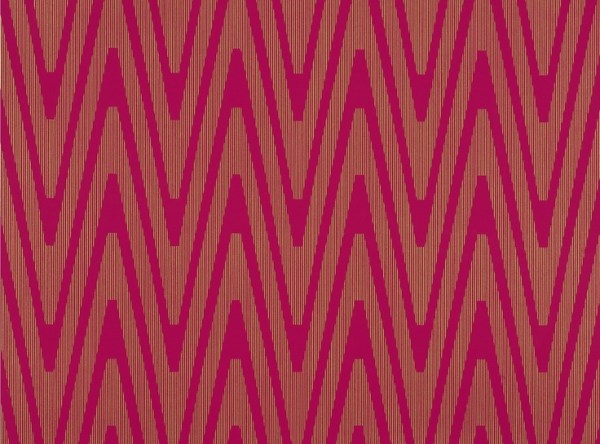 Mimas Wallpaper Fuschia