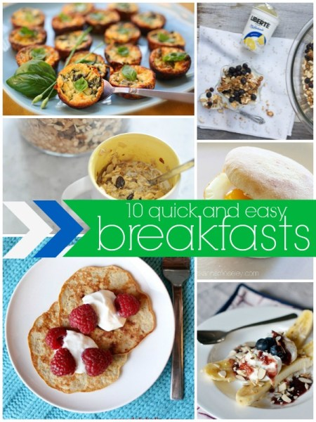 Quick and Easy Breakfast Ideas via Remodelaholic