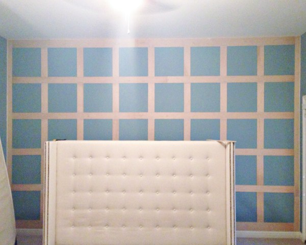 board and batten feature wall, Mesmerizing Moments featured on Remodelaholic