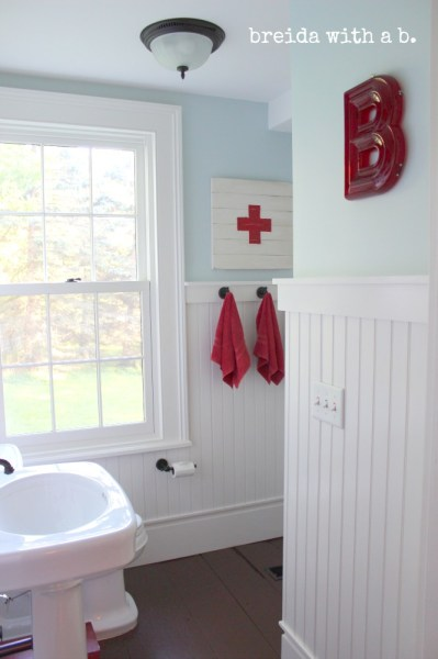 farmhouse bathroom renovation, Breida with a B