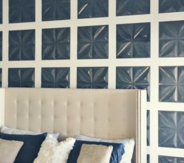 Board and Batten Feature Wall with 3D Wall Panels