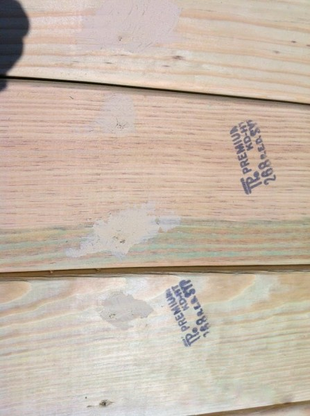 fill in screw holes in pallet deck, The Second Wind of Texas featured on Remodelaholic