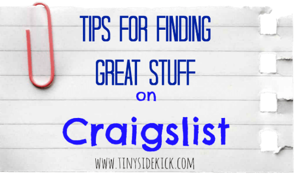 02-07 tips for Craigslist, Tiny Sidekick