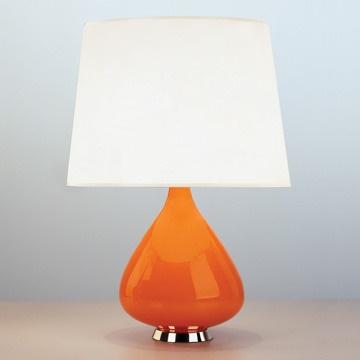orange teardrop lamp