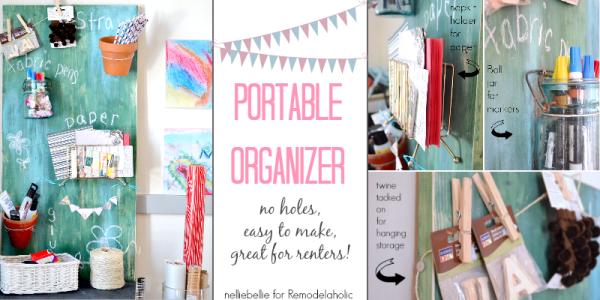 portable organizer remdelaholic featured image